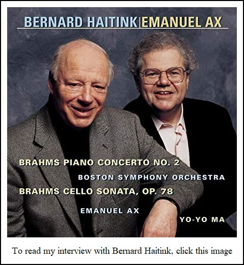 Emanuel Ax Interview with Bruce Duffie