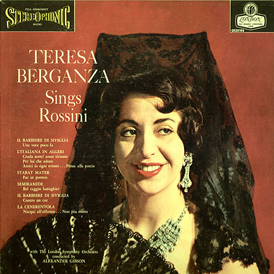 Berganza Rossini LP